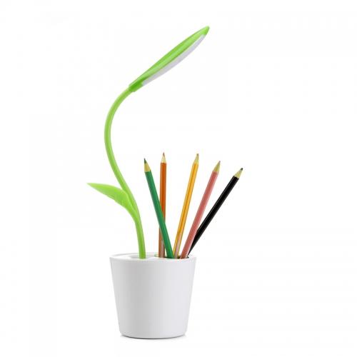 Lampa veghe floare cu acumulator- Verde