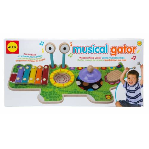 Studio muzical Crocodil Alex Toys