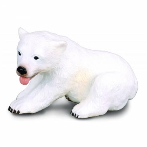 Figurina pui de Urs sezand S Collecta