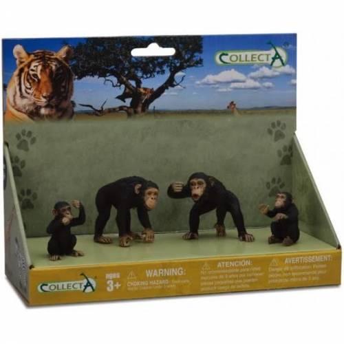 Figurina Familia Cimpanzeilor Collecta