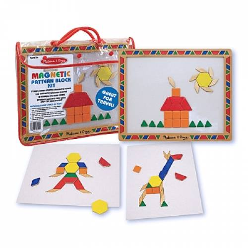 Joc de constructii magnetic Melissa and Doug