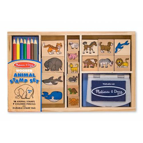 Set de stampile cu Animale Melissa and Doug