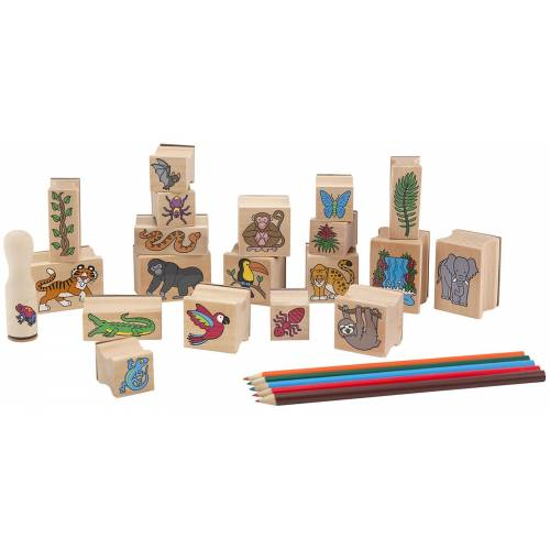 Set stampile Jungla Melissa and Doug