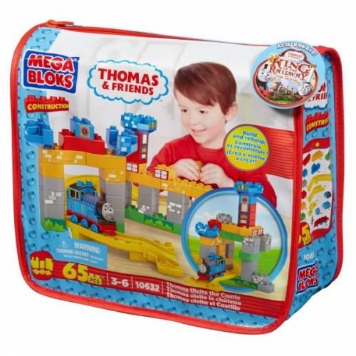 Thomas Viziteaza castelul Mega Bloks