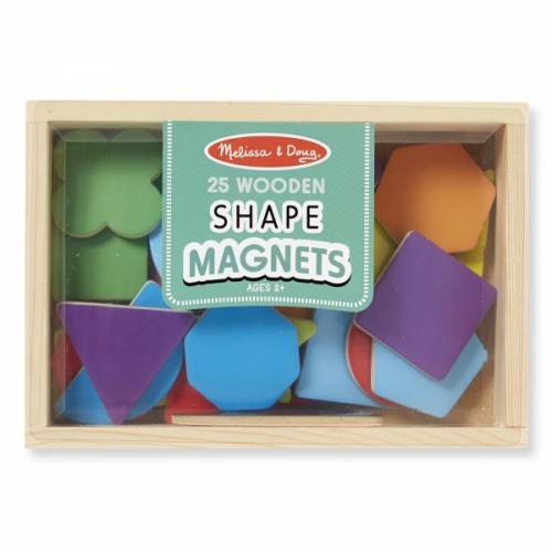 Forme magnetice din lemn