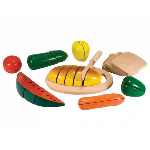 Joc din lemn alimente de feliat Melissa and Doug