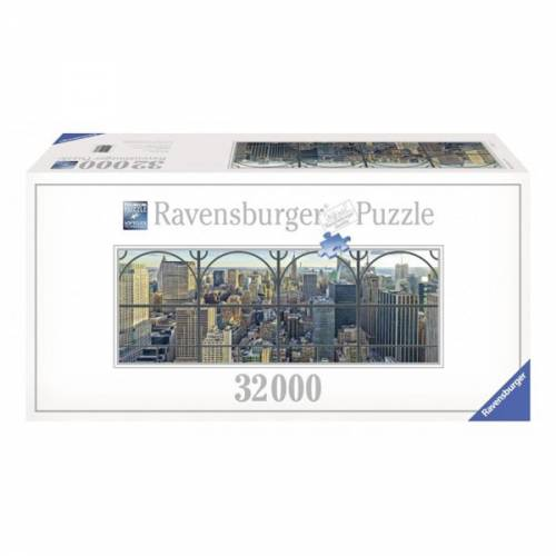 PUZZLE NEW YORK PRIVIT DE LA FEREASTRA, 32000 PIESE