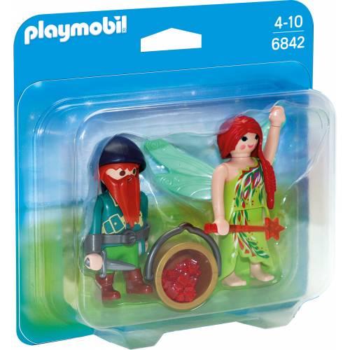 Set 2 Figurine - Elf si Pitic