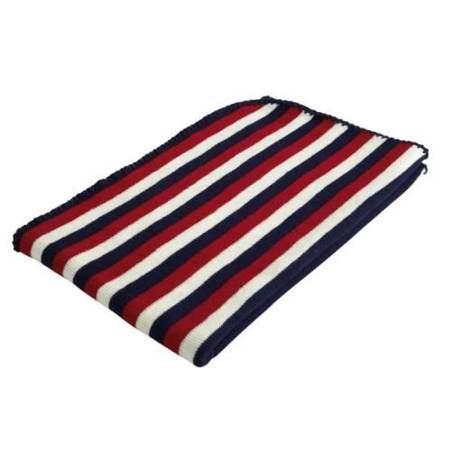 Paturica Baroo Stripe Albastru/Alb