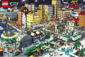 Construieste propriul orasel si intra in lumea LEGO City