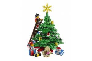 Un Craciun construit din piese LEGO