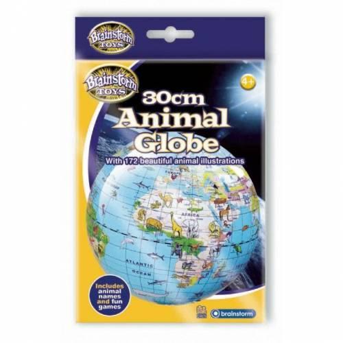 Glob gonflabil cu animale 30 cm  Brainstorm Toys B1710