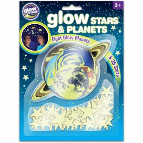 Stele si planete fosforescente The Original Glowstars Company B8623