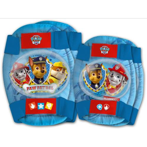Set protectie Cotiere Genunchiere Paw Patrol Eurasia 80174