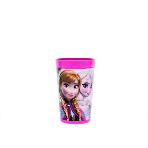 Pahar plastic 280ml Frozen Lulabi 8006428