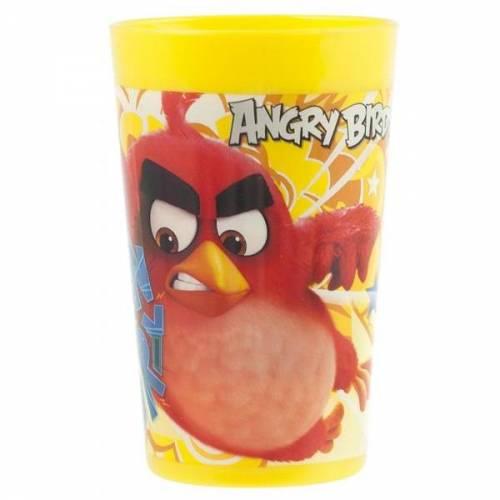 Pahar plastic 280ml Angry Birds Lulabi 8161067