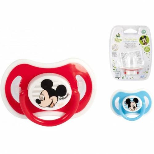 Suzeta ortodontica Mickey 3 luni Lulabi 8118300