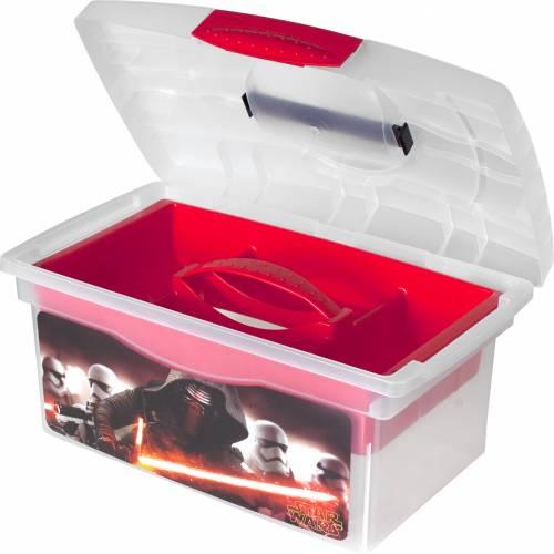 Cutie de depozitare cu maner Star Wars Lulabi 7054100