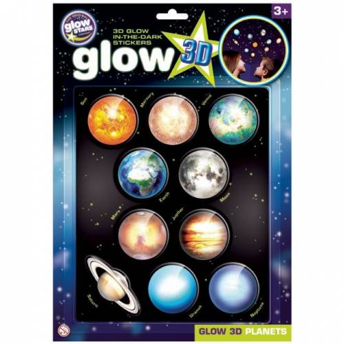 Stickere 3D - Planete The Original Glowstars Company B8101