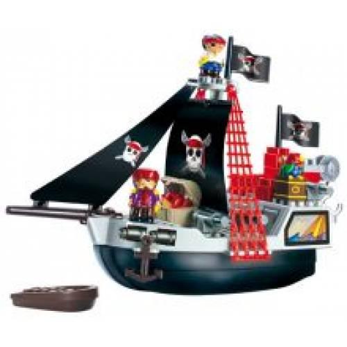 Set Constructii Vas Pirat