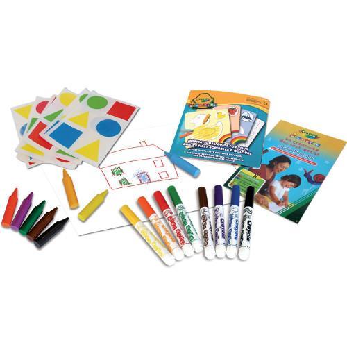 Kit pentru Colorat cu Abtibilduri