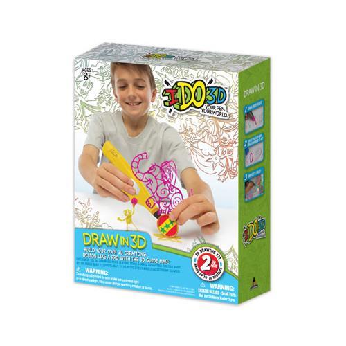IDO3D - Set 2 Creioane 3D Galben