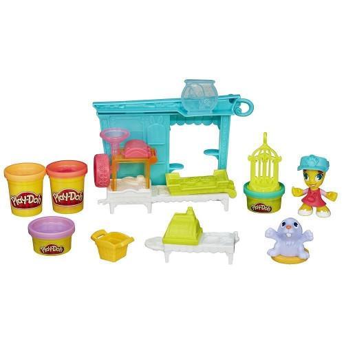 Set Plastilina Play Doh Magazinul de Animalute