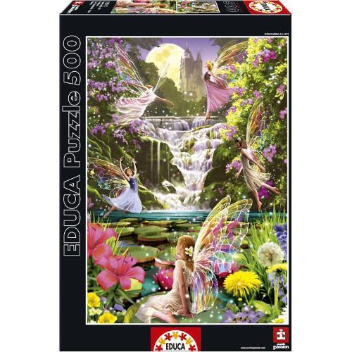Puzzle Cascada Zanelor - 500 Piese