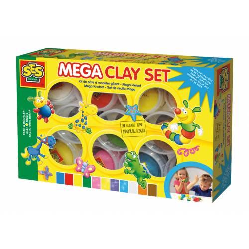 SES Modelaj - MEGA Set 11 culori