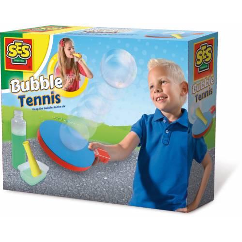 SES Outdoor - Set tenis cu baloane de sapun