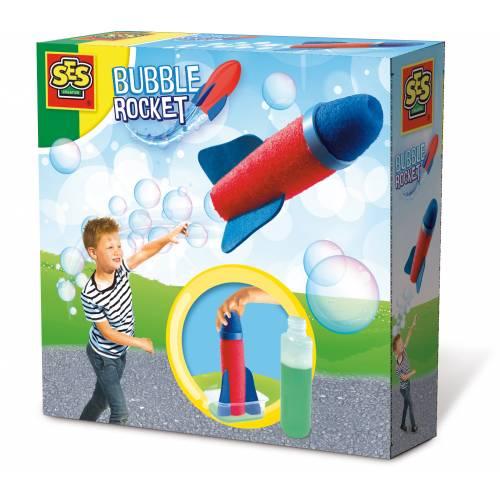 SES Outdoor - Set racheta cu baloane de sapun