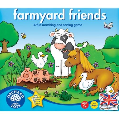 Joc educativ - Prietenii de la ferma - Orchard Toys