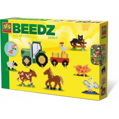SES Beedz - Set margele - La ferma (2400 buc)