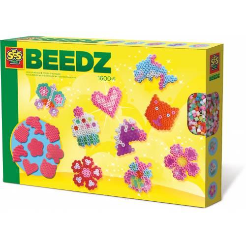 SES Beedz - Set margele - Mini-creatii (1600 piese)