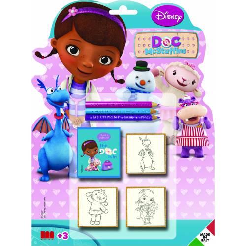 Set 3 stampile - Disney - Doctorita Plusica