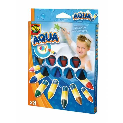 SES Aqua - Set de culori pentru baie (8 buc)