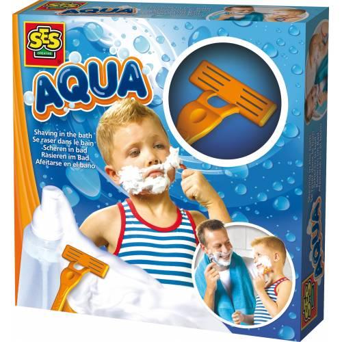 SES Aqua - Set pentru baie - Primul barbierit
