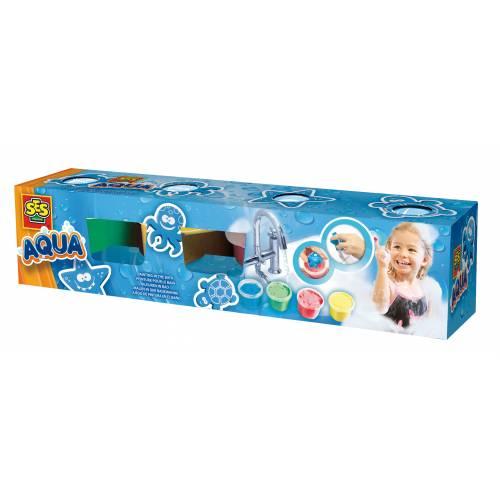 SES Aqua - Set pictura cu degete pentru baie