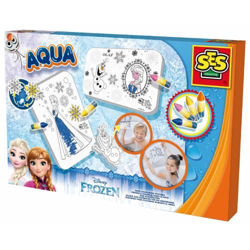 SES Aqua - Set de colorat pentru baie - Disney Frozen