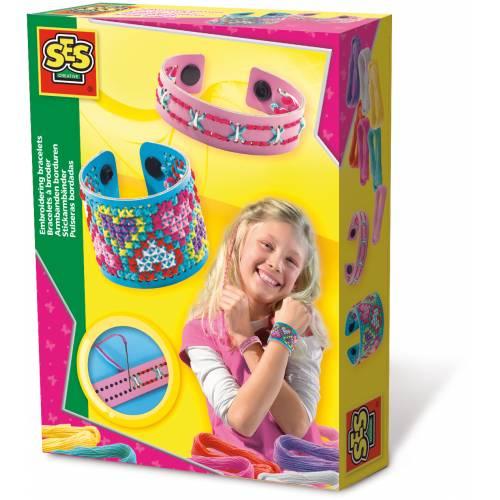 SES Hobby fete - Set creativ - Bratari brodate