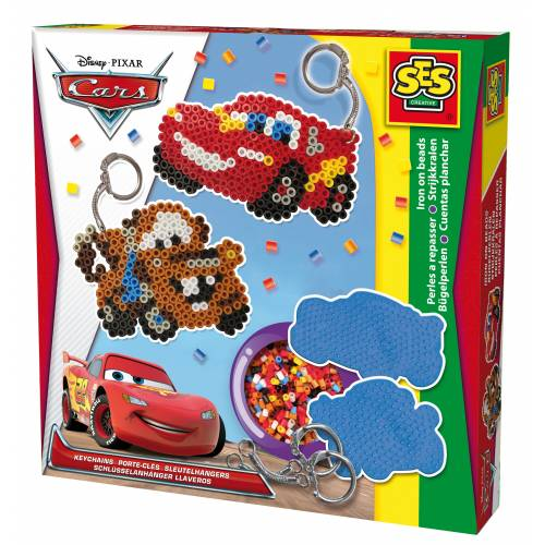 SES Beedz - Set margele - Breloc Disney Cars