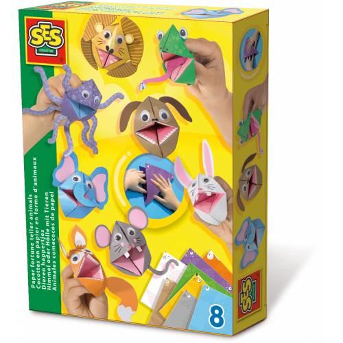 SES Junior - Set origami - Animale vorbitoare