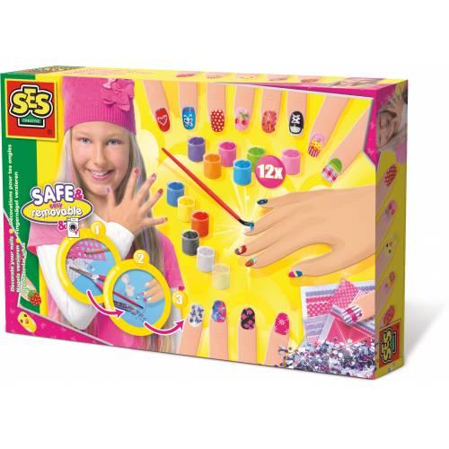 SES Hobby fete - Set creativ pentru manichiura