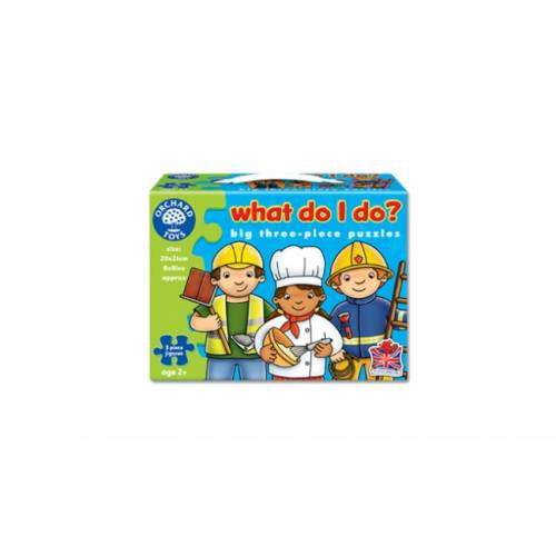 Set 6 puzzle - Meserii (3 piese) - Orchard Toys