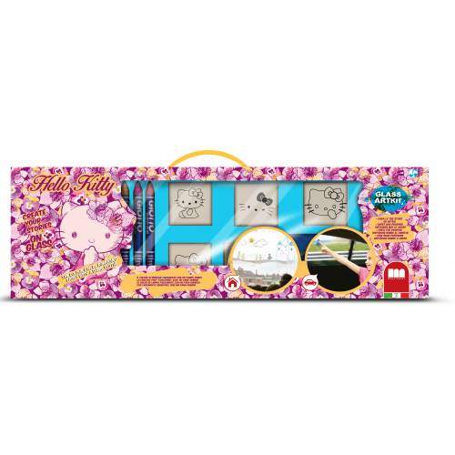 Trusa creativitate pe sticla - Hello Kitty - Multiprint