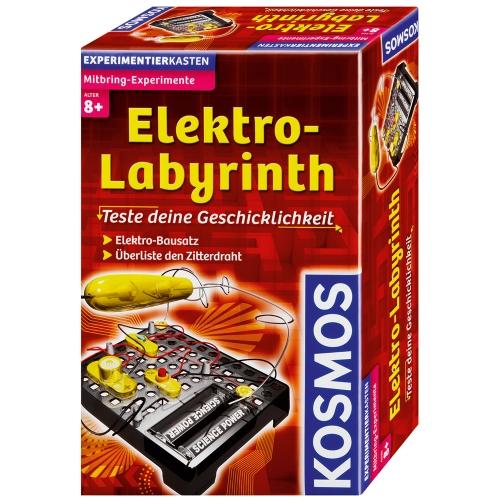 Experimente pentru acasa - Labirintul electric - Kosmos