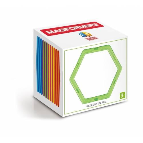 Set rezerve MAGFORMERS - Hexagon (12 buc)