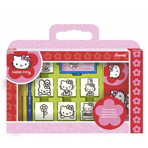 Trusa 7 stampile - Hello Kitty