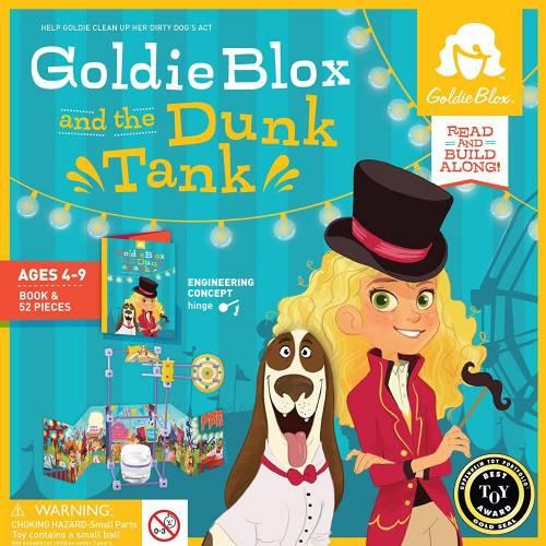 GoldieBlox - Inventii la feminin - Rezervorul cu apa