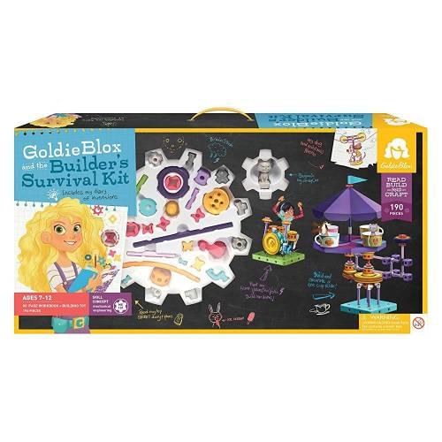 GoldieBlox - Inventii la feminin - Kit de baza